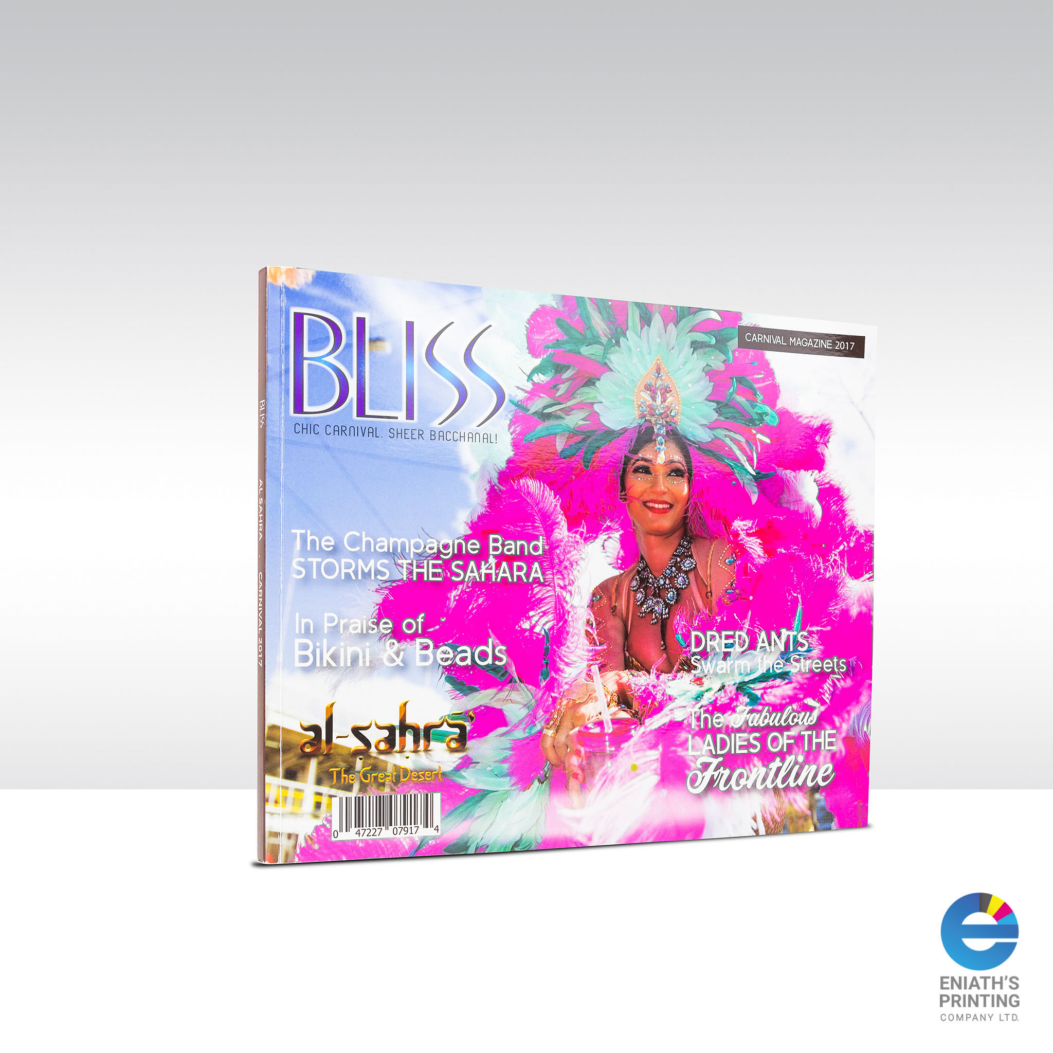 Bliss - Printed by Eniath's Printing Co. Ltd.