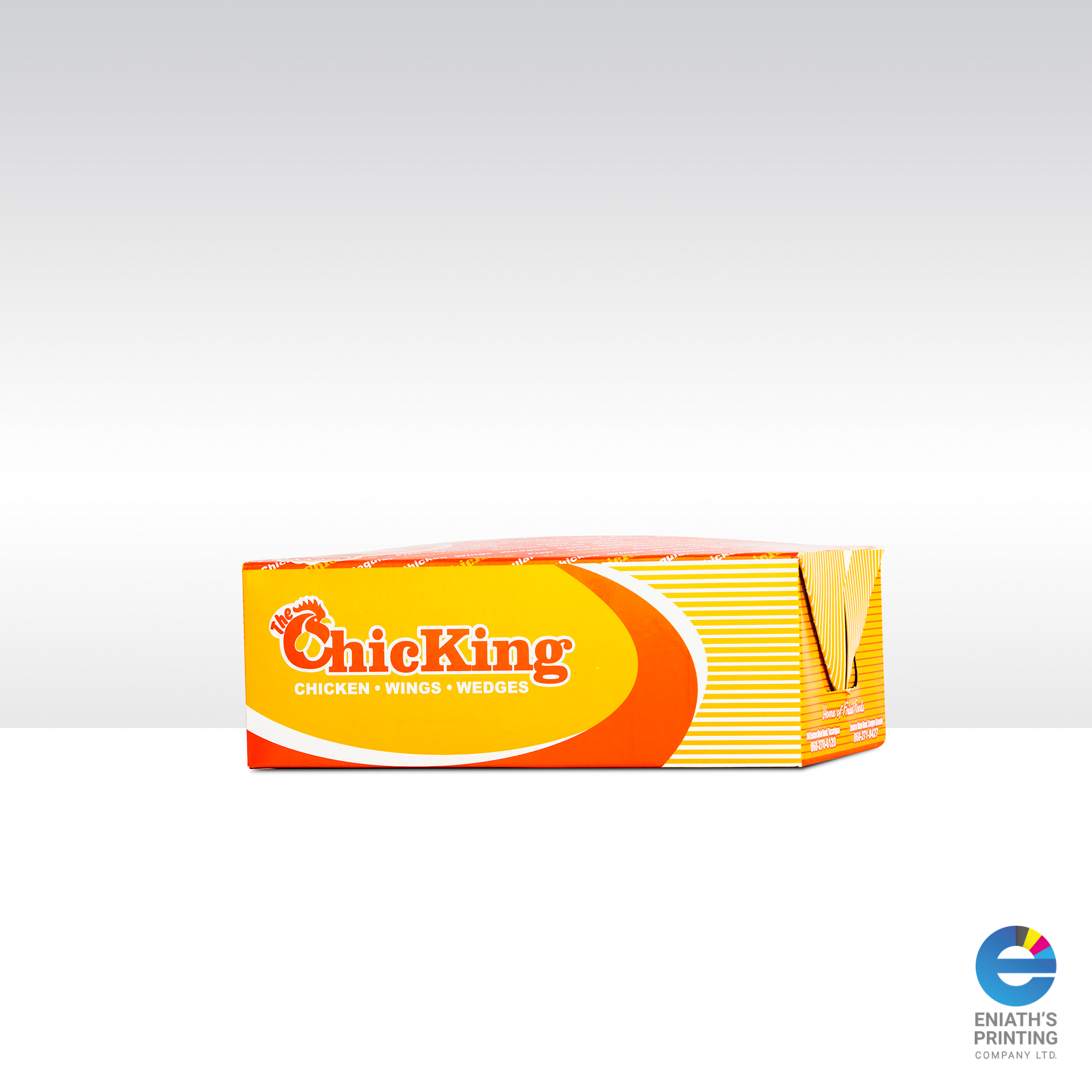 ChicKing Packaging - Printed by Eniath's Printing Co. Ltd.