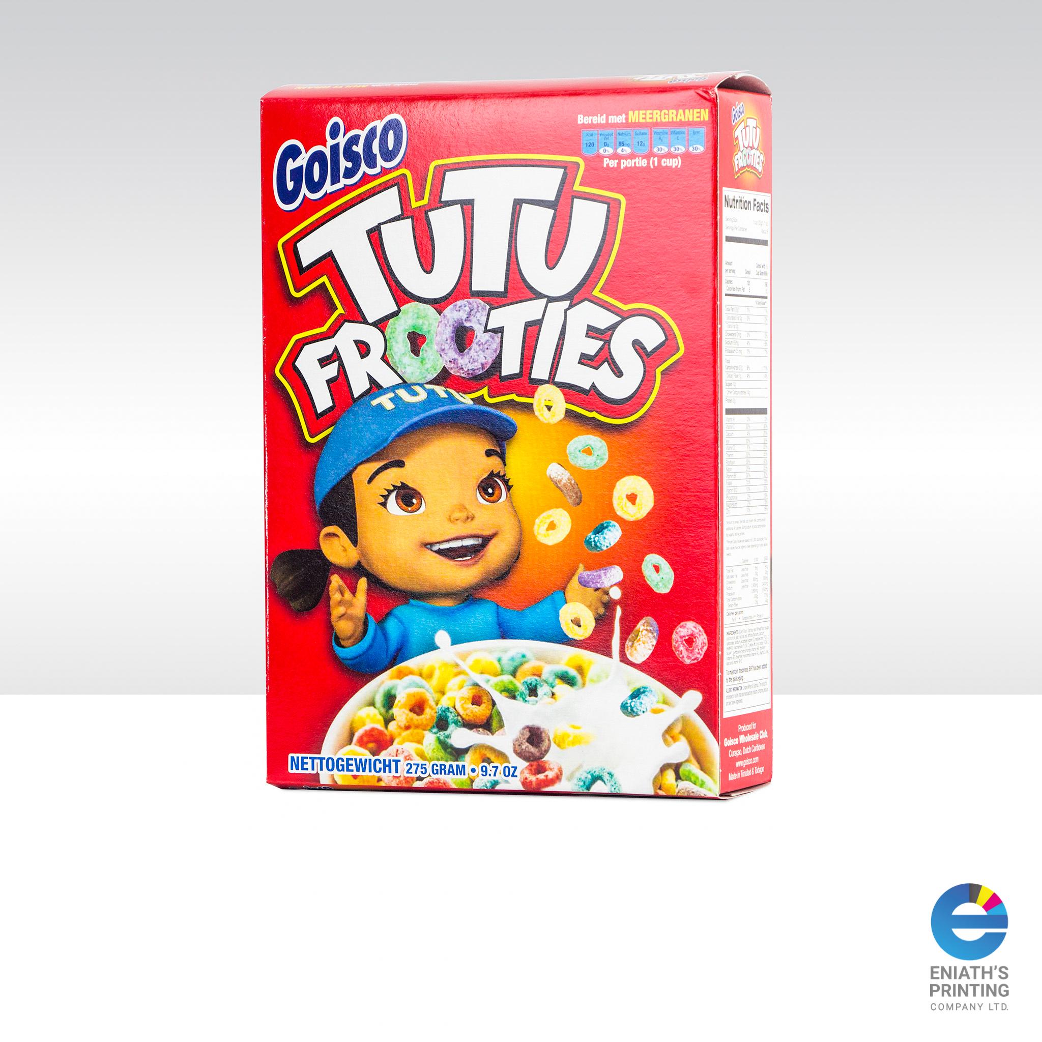 Tutu Frooties Packaging - Printed by Eniath's Printing Co. Ltd.